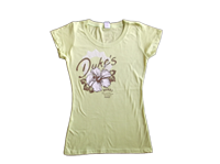 View: Duke's Beach House Maui-Women's Sun T-Shirt in Pear Green