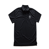 "View: Duke's Waikiki-Men's ""Dry Quick"" Polo Shirt, Dark Grey"