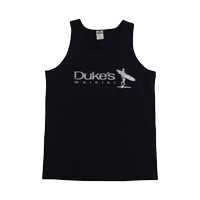 "View: Duke's Waikiki-""Island Surfer"" Tank Top, Navy"