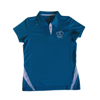 View: Duke's Waikiki-Women's Bridge Polo Shirt, Blue