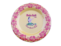 View: SALE! Hula Grill Maui-Round Serving Plate, Yellow