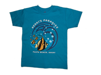 "View: Keoki's Paradise-Keiki (Children's) ""Bubble"" T-Shirt, Blue"