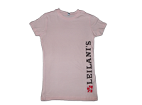 View: Leilani's Women's Crew T-Shirt, Peach
