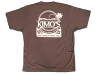 View: Kimo's Two Tone T-Shirt Brown