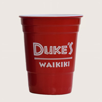 View: Duke's Waikiki-Melamine Cups! Set of Four Colors