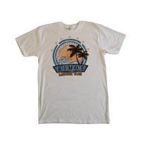 "View: Kimo's-Men's ""Sun"", Light Weight , T-Shirt, White"