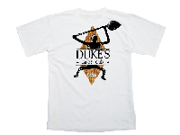 View: Duke's Kauai Petroglyph T-Shirt White