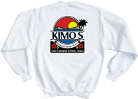 View: Kimo's Original Crew Sweatshirt White