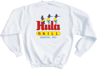 View: SALE!  Hula Grill Kaanapali Original Sweatshirt White