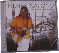 View: Duke's Waikiki Henry Kapono Live CD