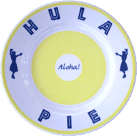 View: Duke's Waikiki Hula Pie Plate