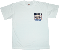 View: Duke's Waikiki Surf Club T-Shirt White