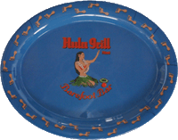 View: SALE! Hula Grill Kaanapali  Blue Oval Serving Platter