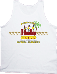View: Hula Grill Kaanapali Barefoot Bar  Tank Top White