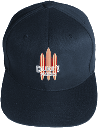 View: Duke's Waikiki Embroidered Baseball Cap Navy