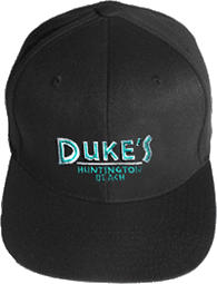 View: Duke's Huntington Beach Flexfit® Baseball Cap Bk