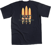 View: Duke's Huntington Beach Two-Tone T-Shirt Navy