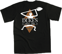 View: Duke's Malibu Petroglyph T-Shirt Black