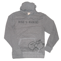 View: Duke's Waikiki-Men's Hooded, Lightweight Pull Over Sweatshirt