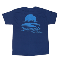 "View: Sunnyside Resort- ""Sailing"" Blue T-Shirt"