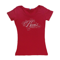 View: Kimo's-Women's Scoop Neck, Red
