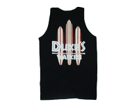 View: Duke's Waikiki Two Tone Boards Tank Top-Black